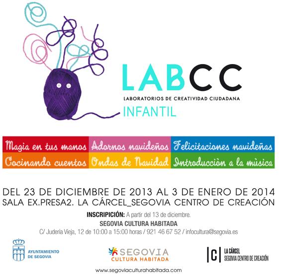 Cartel LABCCs infantiles