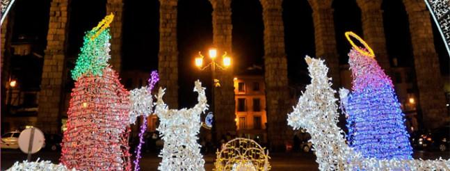 63c2bbd899b Las luces de Navidad iluminarán Segovia desde esta tarde hasta el 6 de enero